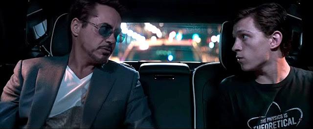 Robert Downey & Tom Holland In Spiderman Homecoming 2017 Movie Stills.jpg